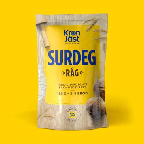 KronJäst Surdeg Råg