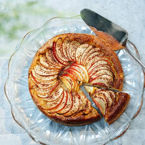 Kanel- & äppelkaka