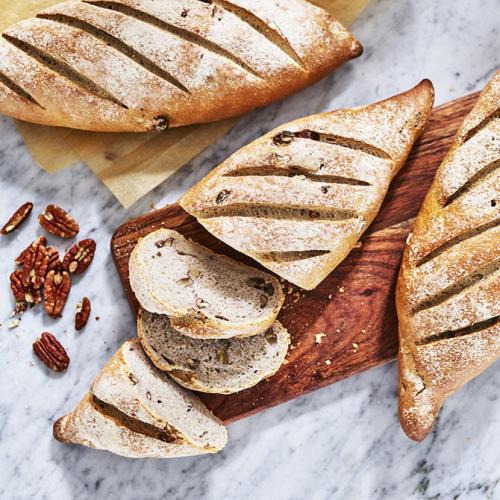 Italienskt lantbröd med pekannötter