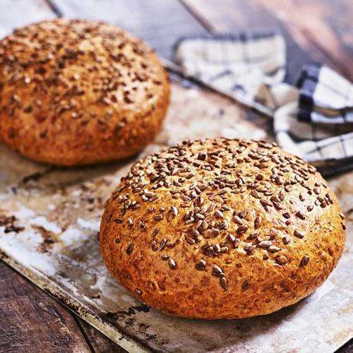 Solrosbröd med grahamsmjöl